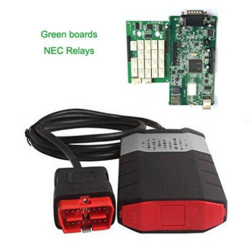 Preisvergleich Produktbild VCI OBD2 Neue,  Diagnosegerät bequeme Dual Grün Boards farbscans Apparat Fahrzeug Kit für Autos Trucks