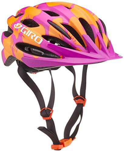 Giro Kinder Helm Raze Magenta/Flowers, 50-57 cm - Mountainbike-helm Giro
