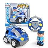 Maximum RC RC Polizeiauto für Kleinkinder - abschaltbare Sound- und Musikeffekte - RC Auto für Kinder ab 3 Jahren