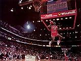 Michael Jordan 32x24 inch / 80x60 cm Plastic Poster Affiche en Plastique Etanche   Anti-Fade   Pouvez utiliser sur l'extérieur/Jardin/Toilettes 6TJ-5999/BB9A...