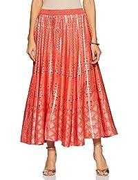 Aurelia Synthetic Full Skirt