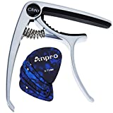 Anpro Guitar Capo for Ukulele, Acoustic and Electric - Best Reviews Guide