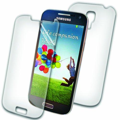 ZAGG invisibleSHIELD® ORIGINAL Schutzfolie für Samsung Galaxy S4 Mini - Full Body (Bildschirm & Rückseite) Invisibleshield Screen Film