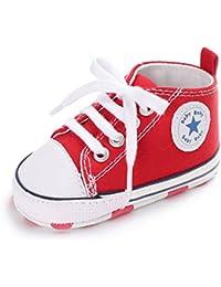 Unisex Bebé Zapatos para Niña y Niño Zapatillas 0-18 Meses