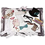 Talking Tables Something in the Air – Kit de accesorios para hacer fotos divertidas, multicolor