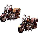 Arrangement Idecorativi da Collezione Retro Motociclette Nostalgiche Ornamenti per Modellismo Casa Soggiorno Mobili TV Vetrinetta da caffè Decorazioni da caffè