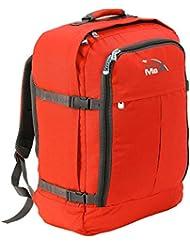 Cabin Max Metz Flugzugelassenes Backpack Groß leichtgewicht Handgepäckstück 55x40x20cm (Grey/Purple)