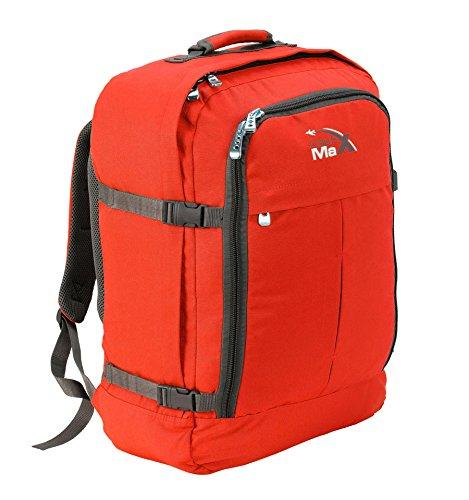 Cabin Max Sac à dos bagage à mains pour cabine 55x40x20cm 44l Gris/Violet
