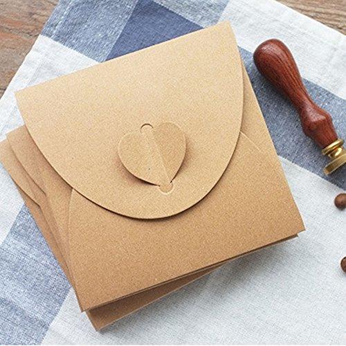 Kraftpapier Briefumschläge | 50 Stück - 3