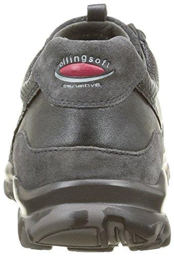 Gabor Rollingsoft, Chaussures de Sport Femme Gris (Argento/Grap/S Cf 49)