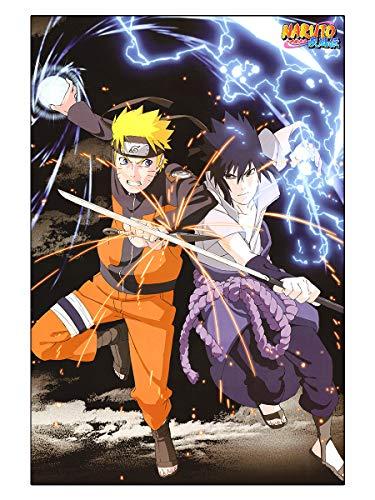 CoolChange Puzle de Naruto, 1000 Piezas, Tema: Naruto & Sasuke