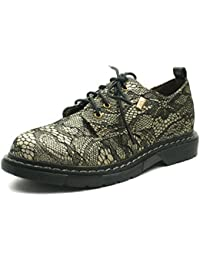MS031 Miss Sixty Laceup Derby Shoe Low Girls in Lace Effect
