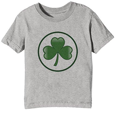 St Patrick Tag Kinder Unisex Jungen Mädchen T-Shirt Rundhals Grau Kurzarm Größe S Kids Boys Girls Grey Small Size S