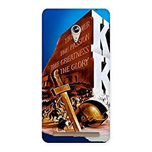 Enticing King Power Back Case Cover for Zenfone 6