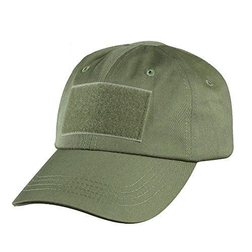 Forepin® Regolabile in velcro Cappellino militare tattico Outdoor Cappelli Velcro Patch di baseball della protezione del cappello con sei fori di ventilazione Tenere il cappello arieggia, progettato per proteggere la testa dal sole e Sand (Army Green)