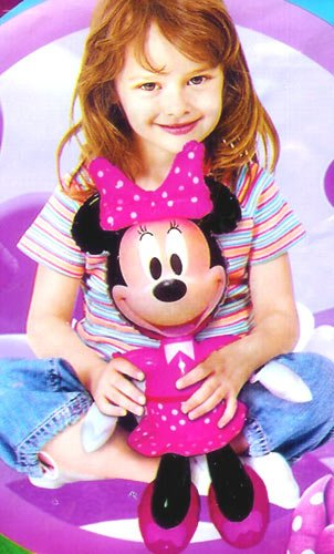 Image of Minnie Mouse. Disney Inflatable Character 49cm