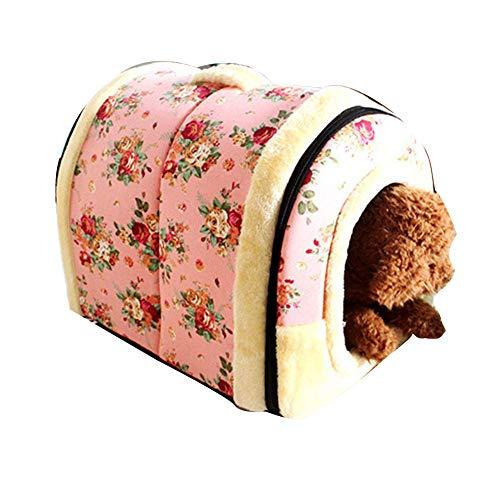 SparY Perro casa, Dormir Plegable Caliente cojín