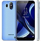 HOMTOM S16 Teléfono Móviles Libres 3G, Móviles de 5.5 pulgadas (18:9 Relación de Aspecto Pantalla, 2GB RAM 16GB ROM, Android 7.0, 13.0MP + 2.0MP + 8.0MP Cámaras Triples, Dual SIM) - Azul