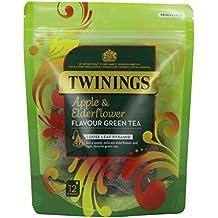 Twinings  Apple & Elderflower 12 pyramids (pack of 4)