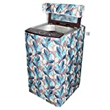 INSAK HOMES TOP LOAD WASHING MACHINE COVER SUPPORTS 5.5KG, 6KG, 6.2KG, 6.5KG, Colour and Design May Vary (Assorted)