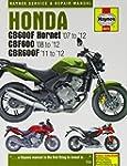 Honda CB600F Hornet, CBF600 & CBR600F...