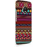 Cover Affair Aztec Printed Designer Slim Light Weight Back Cover Case for Moto G5s Plus (Multicolor) (Group 2-D81)