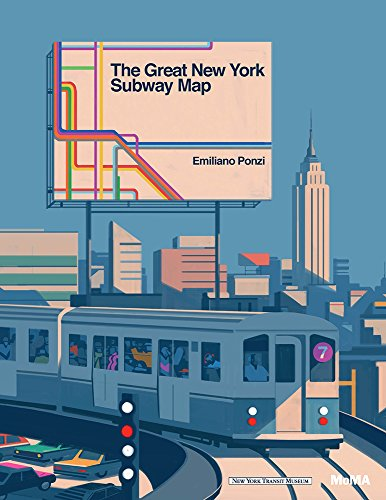 The Great New York Subway Map por Emiliano Ponzi