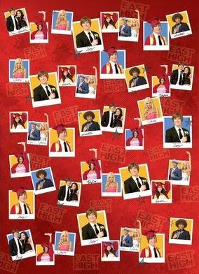 High School Musical 3 Senior 'The Year'Geschenkpapier & Geschenkanhänger (2 Stück) (High School Musical-pack)