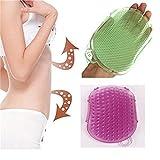 Ungfu Mall-Spazzola massaggio silicone per massaggi Anti-Cellulite Exfoliater Body Scrub Glove pennelli