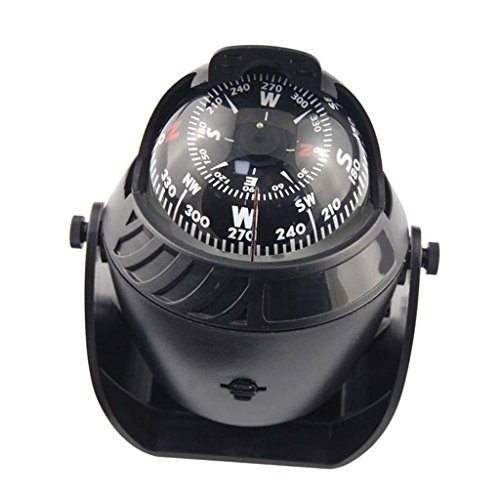 Preisvergleich Produktbild Gazechimp LED Licht Meer Auto LKW Kompass Boot Navigation Bootskompass Einbaukompass
