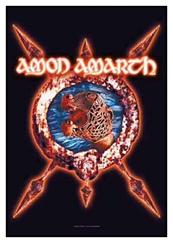 Poster Bandiera - Amon Amarth   828