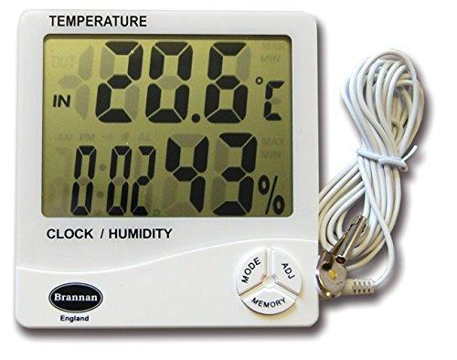 Jumbo Digital max min Thermometer–Ideal Gewächshaus Thermometer