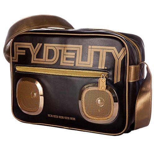 Fydelity Borsa Messenger Namesake G-Force borsa a tracolla, Stan Green (verde) - 92487 nero