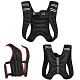Gallant Weighted Vest Black Red 20kg