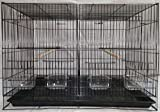 #10: Adventure Breeder Split Cage (Black)