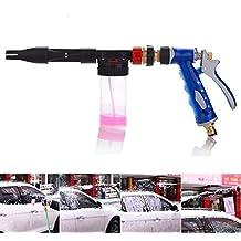 FireAngels Pistola de limpieza Pulverizador de alta presión Ajustable 2 en 1 Auto lavado Espuma Vehículo