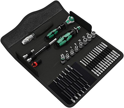 Wera 05135928001 Kraftform Kompakt M1 Metall, Werkzeug-Set, 39-teilig, Stück