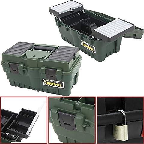 Anglerkoffer Formula Box A 500, 46x25,5cm Werkzeugkoffer Kasten Werzeugkiste Sortimentskasten Angelkoffer