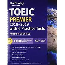 Toeic Premier with 4 Practice Tests: Online + Book + CD (Kaplan Test Prep)