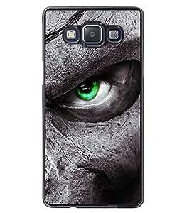 Fuson 2D Printed Eye Designer back case cover for SAMSUNG GALAXY A5 A500F - D4331