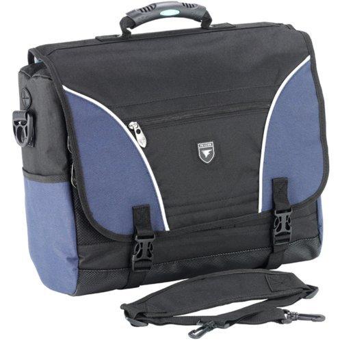 Falcon FI2593 Noir/bleu marine-professionnelles ou de loisirs Sac bandoulière pour ordinateur portable 17 \\
