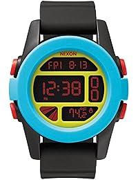 Nixon Herren-Armbanduhr Unit Digital Quarz Silikon A1971935-00