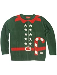 Christmas Jumper Elf Outfit ( X-Large ) ( Green )