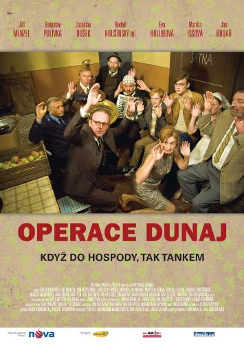Operation Dunaj Plakat Movie Poster (27 x 40 Inches - 69cm x 102cm) (2009) Czechoslovakian