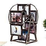 Lifestyle-Nice windmühle fotorahmen riesenrad Kombination 12 5 - Zoll - Foto - Album einfügen,Brown,Dekoration Wohnung Modern