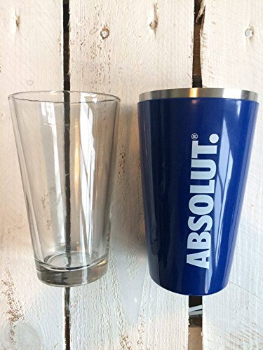 Absolut Vodka Shaker Blau