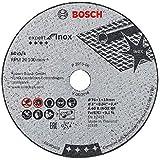 Bosch Professional 5 Stück Trennscheibe (Expert for Inox, Zubehör für Winkelschleifer mit 10mm Aufnahme)