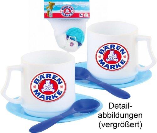 No Name Bärenmarke Tassen-Set Kunstst. Gh-Exkl.