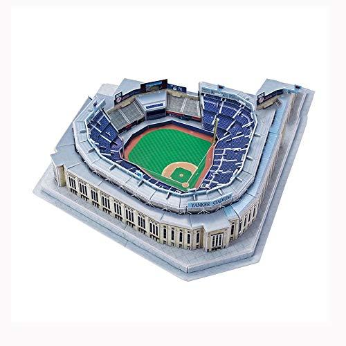 LMCLJJ Yankee Stadium Baseball Field Modell 3D Puzzle Home Sport Baseball-Feld-Modell Fans Souvenir Puzzle Berühmte Architektur Bauen Modell