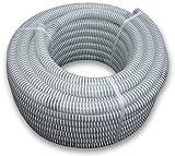 Bradas saf25tubo flessibile di aspirazione/Tubo di pressione, Ali di Flex, lunghezza: 25m, 7Bar, diametro 25mm, bianco, 40x 40x 20cm